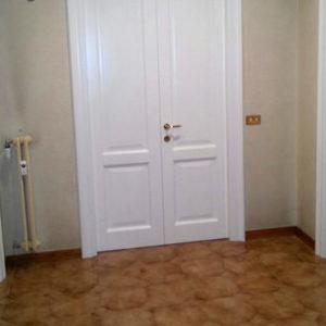 Porte artigianali in stile inglese laccate bianche