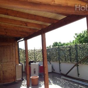 SE007 | Portico in legno su misura