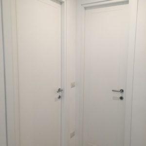 Porte laccate in legno