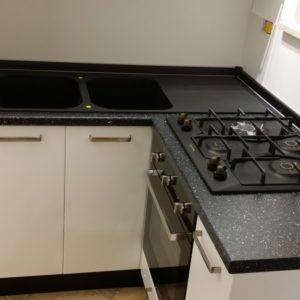 Cucina laccata su misura