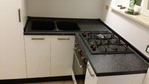 Cucina su misura laccato bianco