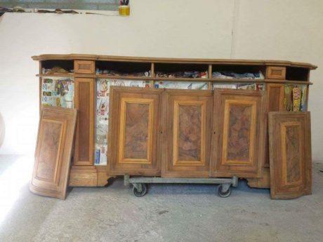 restauro mobili in stile moderno