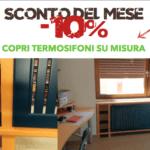 Sconto del Mese -10% sui copritermosifoni