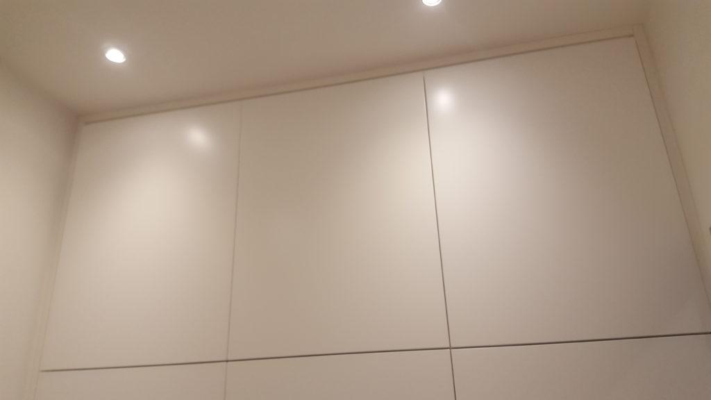 Armadio A Muro Laccato Bianco.Armadio A Muro Laccato Bianco