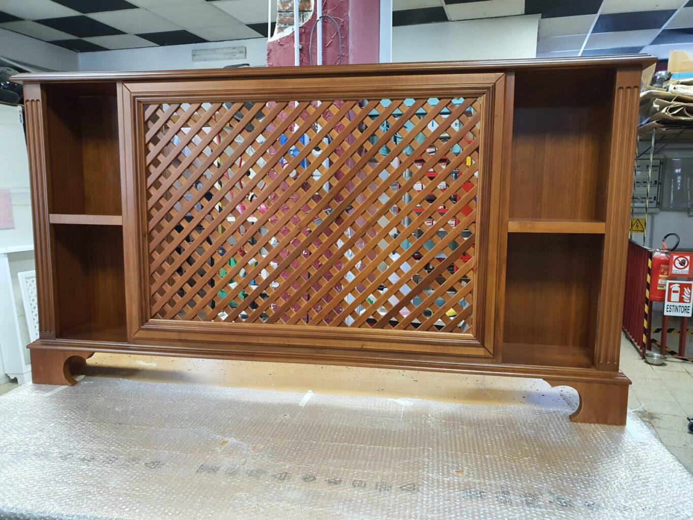 copritermo in legno
